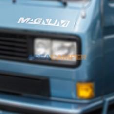 """""""Magnum"""" sticker, silver,..."""