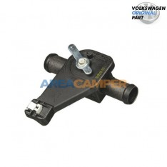 Front heater manual valve...
