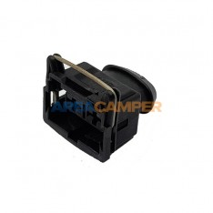 2-pin electrical connector,...
