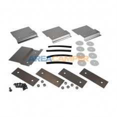 Set of stainless steel...