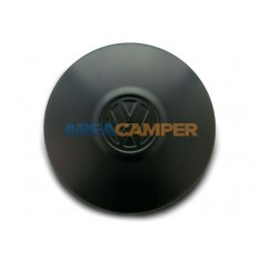 VW T2 and VW T3 genuine black hub cap, 08/1970-07/1992
