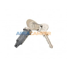 Cabin door lock cylinder