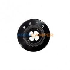 Botón ventilador calefacción auxiliar
