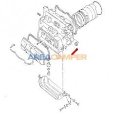 Exhaust valve guide