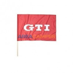 GTI flag, red