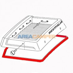 VW T25 and Vangon rubber seal for luggage pan