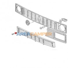 Trim clip, for front Grille