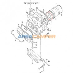 Cylinder head liner top seal, 1900 CC and 2100 CC