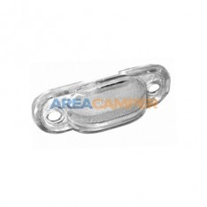 Number plate light lens