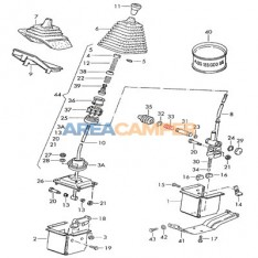 Pressure spring for 5-speed manual gearbox