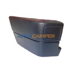 Rear left bumper end cap VW T4 (1991-1996), without hole for fog lamp