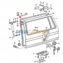 Vanagon tail gate wiring grommit sleeve