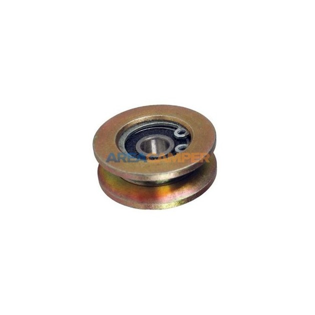 Vertical roller bearing for sliding door