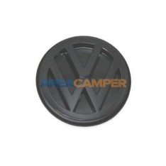 Rear VW emblem Ø 100 mm VW T4 (1991-2003), satin black