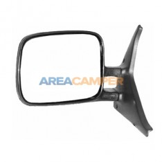 Flat manual and non heated left wing mirror, LHD