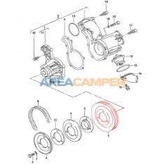 Water pump pulley, Diesel