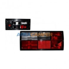 Smoked left tail lamp lens, for Hella lampholders