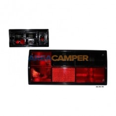 Smoked dark right tail lamp lens, for Hella lampholders