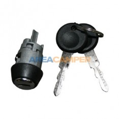 Ignition switch with 2 keys