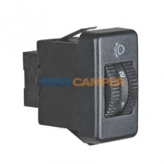 Switch for headlight range control (until 1995)