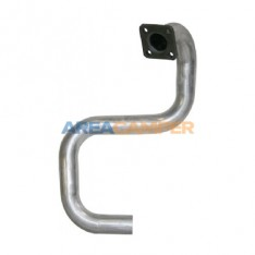 Exhaust pipe from manifold to silencer 1600 CC D (CS), 01/1981-07/1987