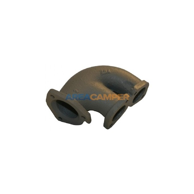 Cast exhaust elbow, 1900 CC (DG) and 2100 CC (DJ,MV,SR,SS) from 1985