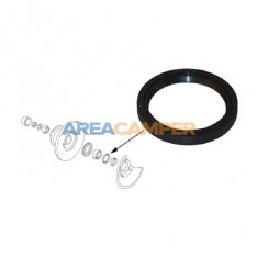 Front wheel bearing seal, left or right