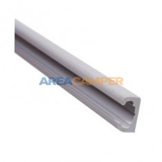 Curtain rail (grey), 2.2 mts
