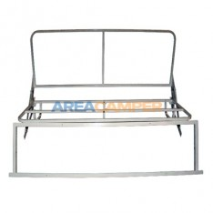 Rock & Roll bed frame, 1.5 mts wide (3 seats)