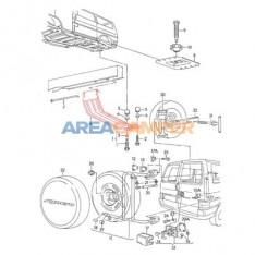 Spare wheel bracket (1991-1995)