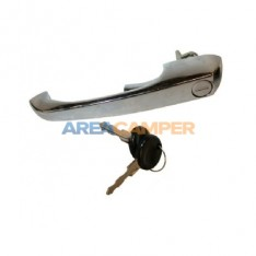 Chromed front door handle with keys VW T2 (08/1968-07/1979)