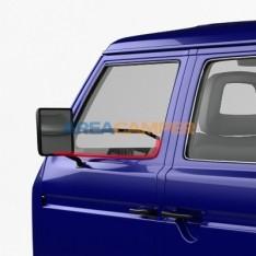 Junta inferior vidro, lado externo esquerdo ou lado interno direito