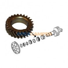 Timing gear for crankshaft on 1.6L, 1.9L, 2.1L petrol engines