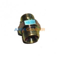 Double thread male fitting M18/M14 x 1.5 for VW T3 power steering return pipe