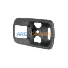 Interior door handle surround, black