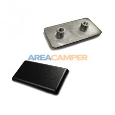 Sliding window outer latch plate