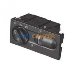 Switch for front lights and rear fog light VW T4 LHD (01/1996-06/2003), for models with day driving headlights