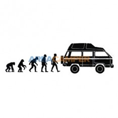 Syncro evolution sticker, 18*5 cm
