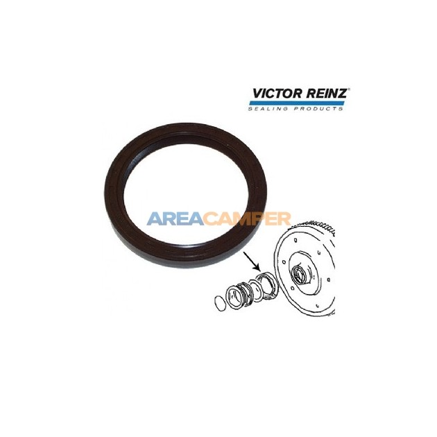Crankshaft oil seal (flywheel side) , petrol engines