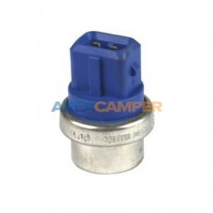 Coolant temperature sender (blue) for VW T3 2100 CC engines (08/1985-07/1992) and VW T4 (all), 2 pins