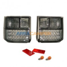 Tail lights set VW T4 (1991-2003), black/smoked