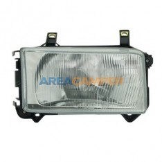 Right H4 Headlight without motor for headlamp levelling, shortnose vehicles