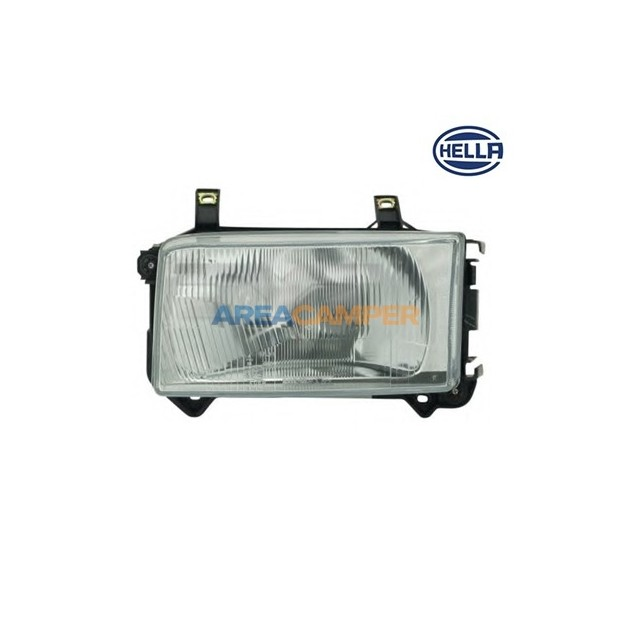 Left H4 Headlight, without motor for headlamp levelling
