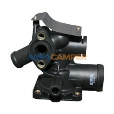 Housing for thermostat 1900 CC (DF) and 2100 CC (SS,MV,DJ) engines from 08/1985 to 07/1992