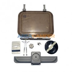 Kit completo claraboya para techo elevable Westfalia