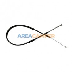 "Left hand brake cable from bar to drum for Syncro 16"", 11/1984-07/1992"