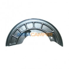 Left front brake disc dustshield for Syncro (11/1984-07/1992)