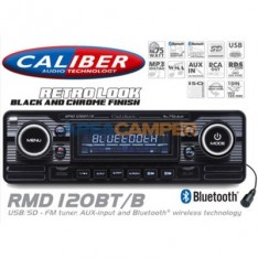Auto-Radio CD MP3 Caliber 120 Bluetooth, preto