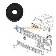 Rubber washer for front grille with round or rectangular headlights