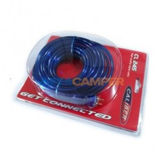 Pre-cable 5m double shielded with remote